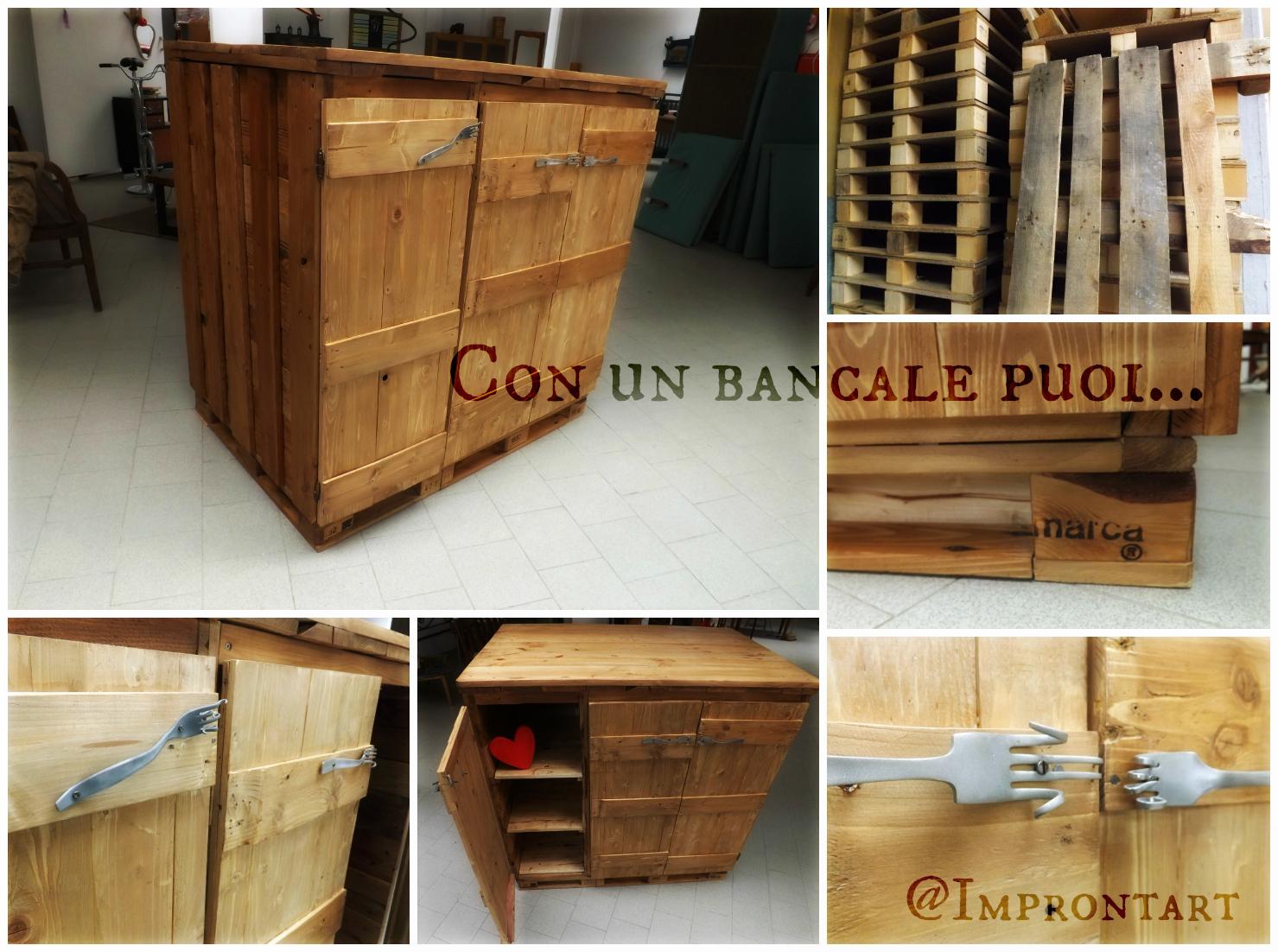 Improntart con un bancale puoi - Costruire un mobile in legno ...