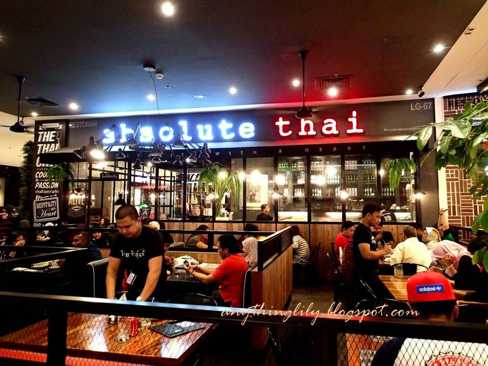 Anythinglily review of absolute thai ioi city mall for Absolute cuisine