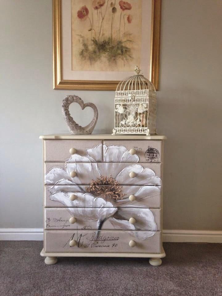 Dolce hogar como decorar comodas for Muebles antiguos vintage