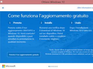 gratis windows 10 29 luglio