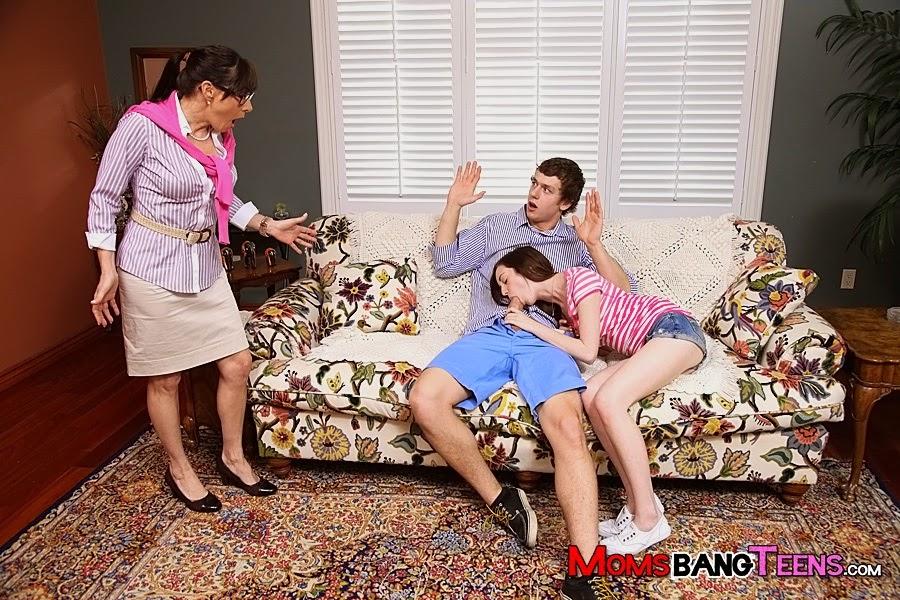 Сын застал мать в расплох смотреть онлайн
