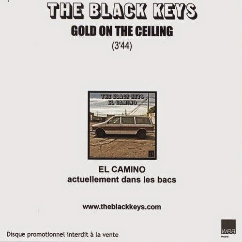 Gold On The Ceiling (Promo France). Format: CD, Clear PVC Sleeve With  Folded Inlay Card