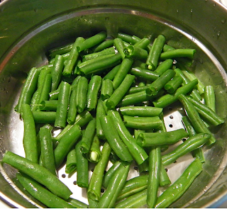 String Beans in Steamer