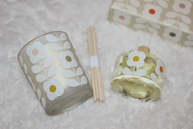 Orla Kiely Basil and Mint Home Fragrance Gift Set