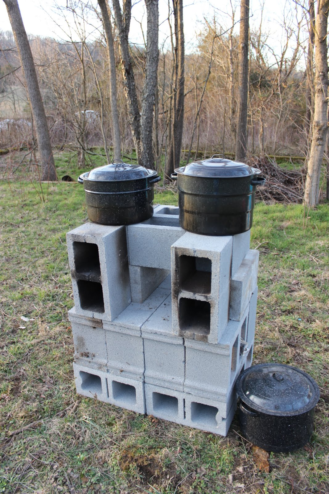 Double Rocket Stove