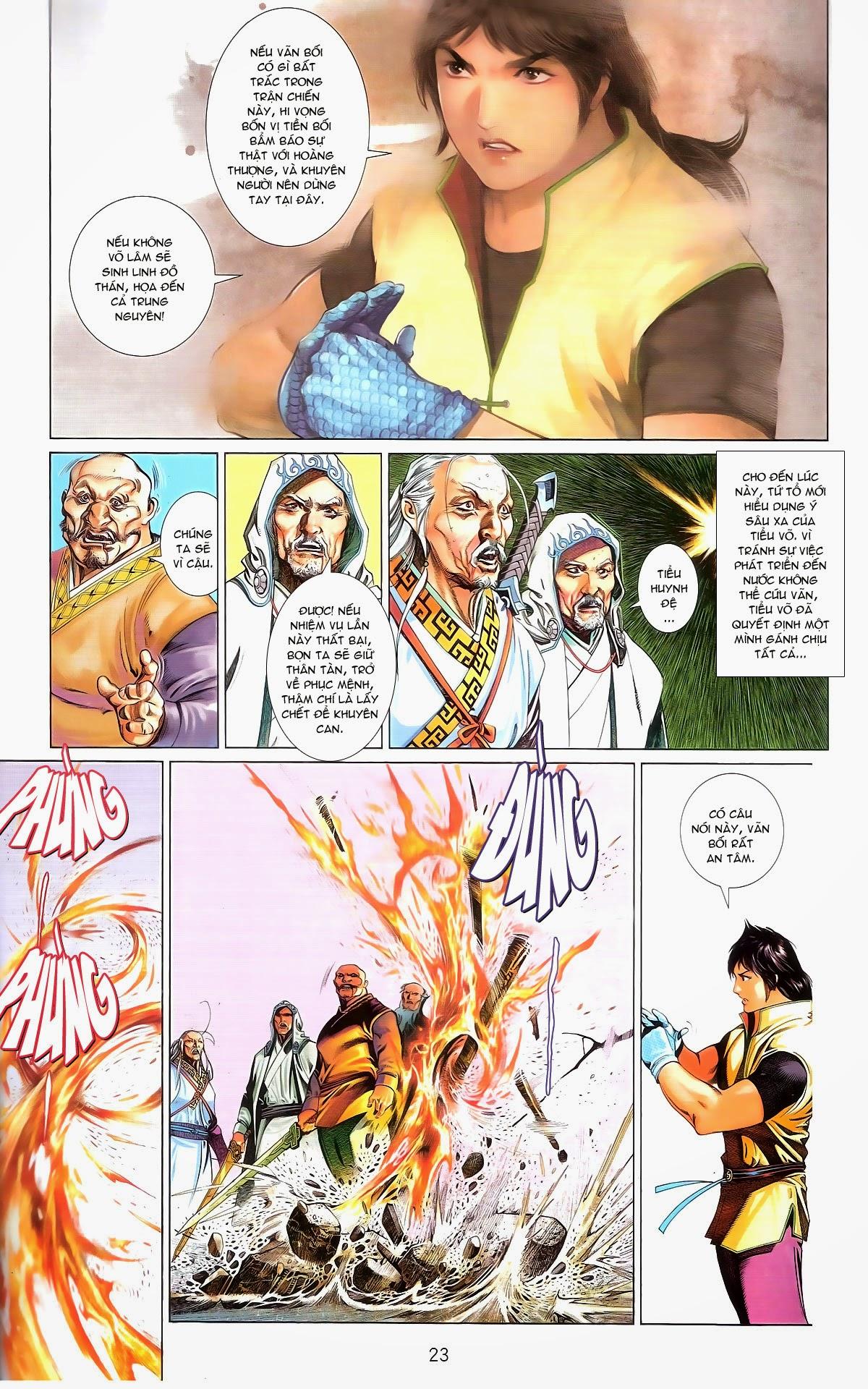 Phong Vân chap 674 – End Trang 25 - Mangak.info