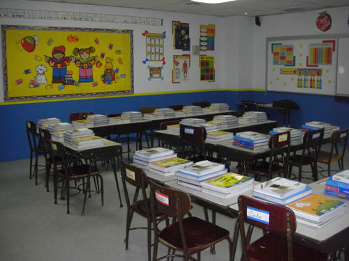 Psicopedagogia interactiva c mo organizar el aula de - Color para pintar un salon ...