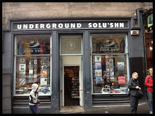 Underground Solu'shn, Edinburgh Scotland. Photo Credit: Ocean Eiler