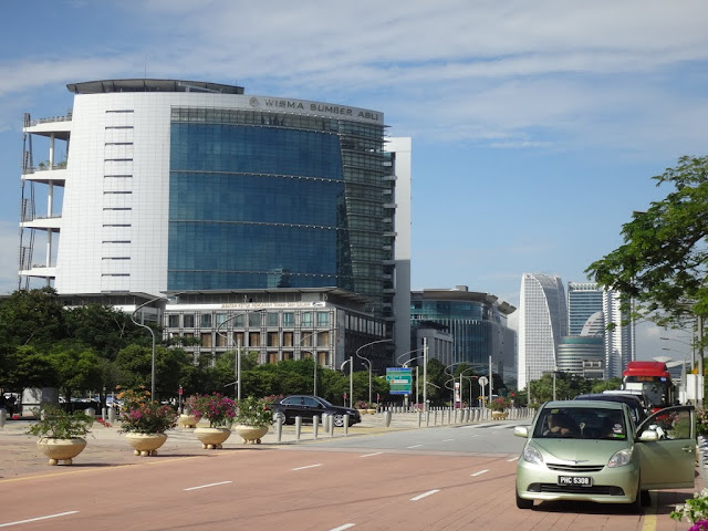 Wisma Sumber Asli or Ministry of Natural Resources and Environment in Putrajaya, Malaysia