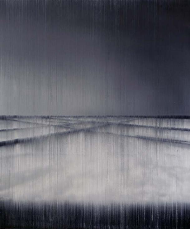 Lines of Flight - pintura de Akihito Takuma