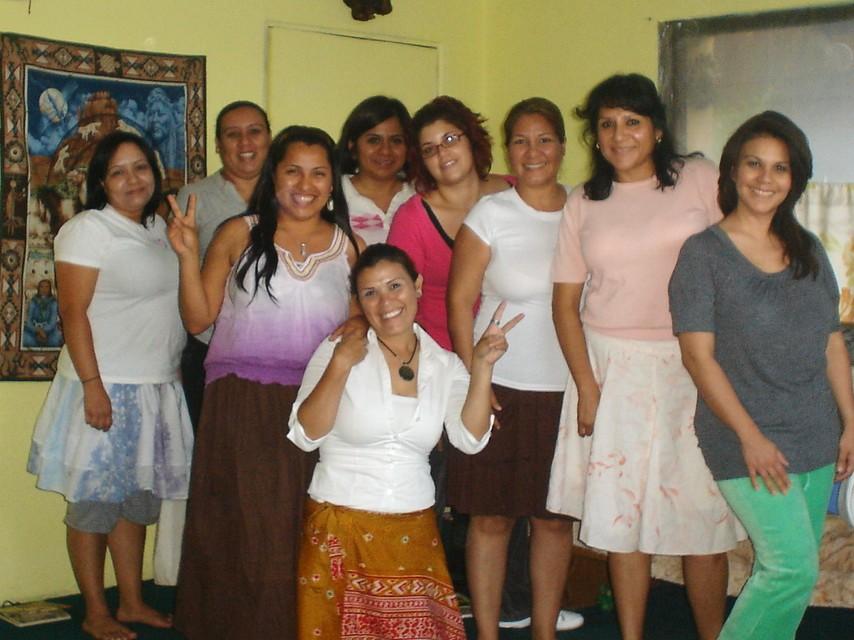 Uno de los grupos mas hermosos del taller femenino