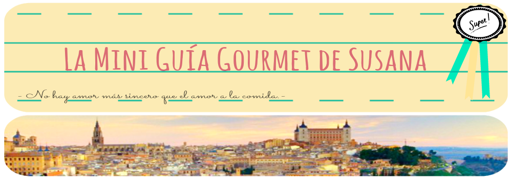 La mini guía Gourmet de Susana
