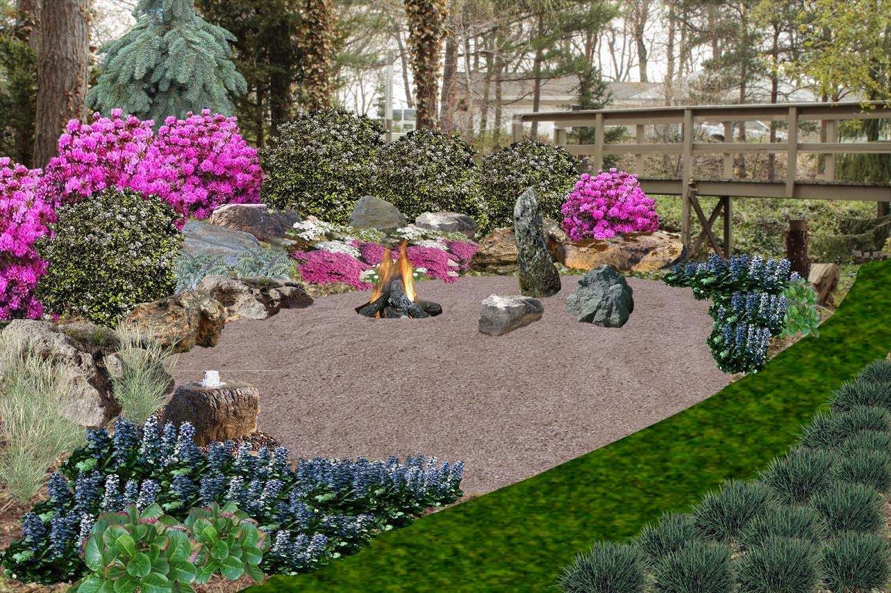 Asian Inspired Relaxation Garden - Holland, MI Pro Landscape Design - Photo  Realistic Image Editor - Landscape Design Guru: Sketchup For Landscape Design