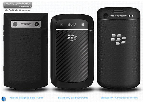 BlackBerry TK Victory - Newest Design BlackBerry 10