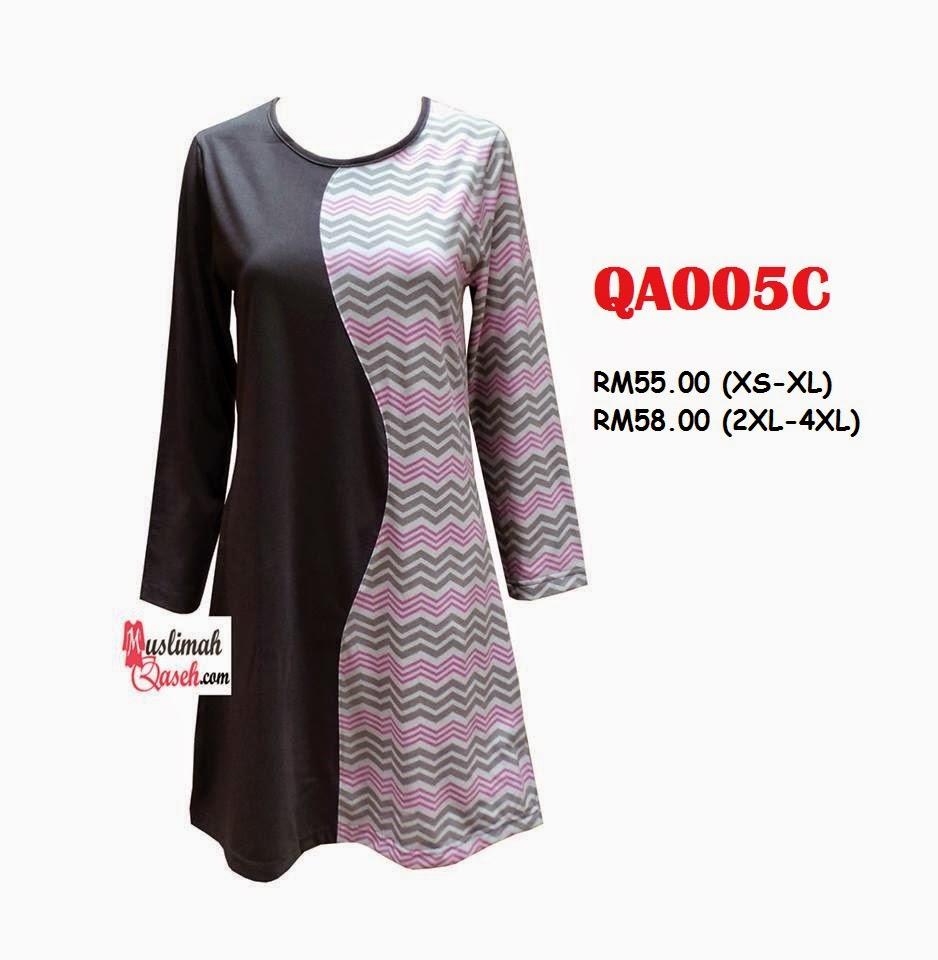 T-Shirt-Muslimah-Qaseh-QA005C