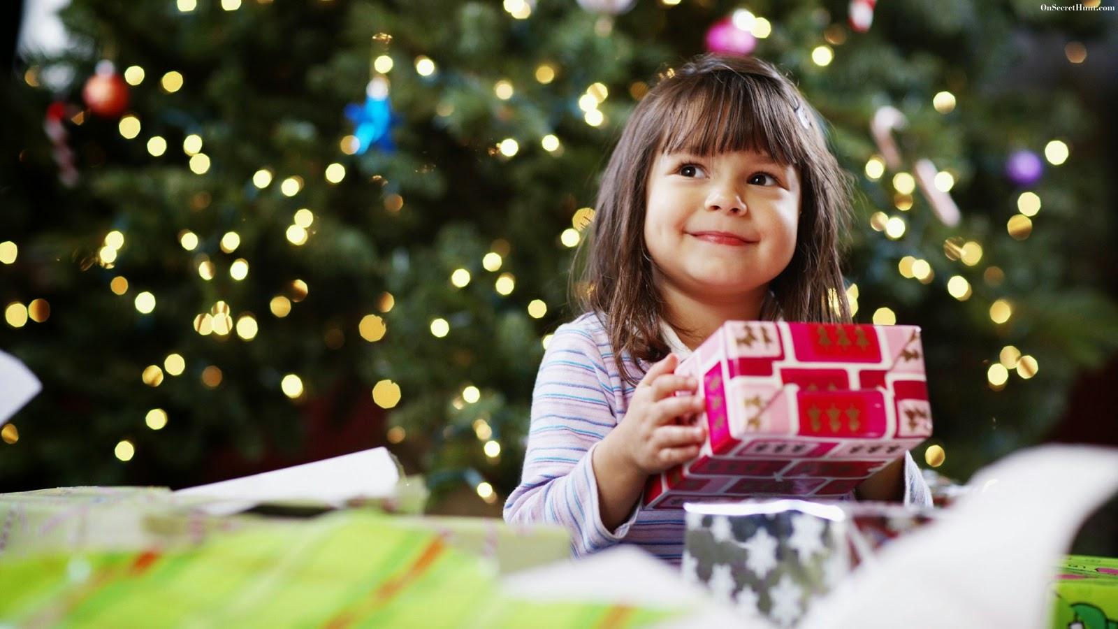 cute baby girl christmas gift