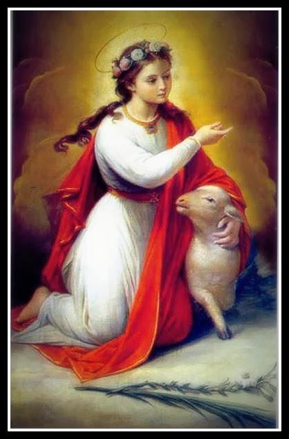 Sancta Agnes, Ora pro nobis