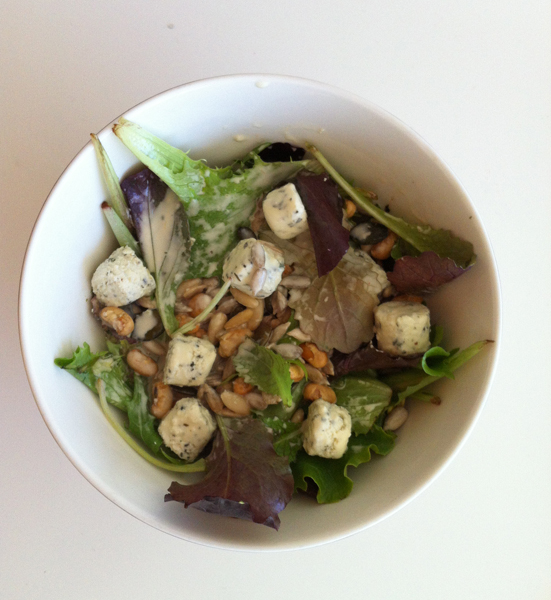 Salad recipe inspired by herbs from Provence