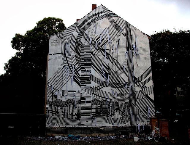 Street Art By Sten Lex In Cologne, Germany For CityLeaks Urban Art Festival. 1