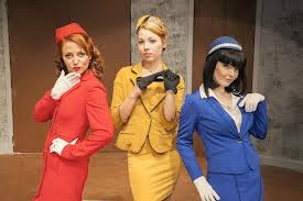 Boeing Boeing three stewardesses