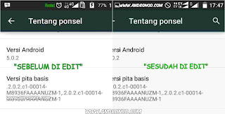 Statusbar Andromax Ec