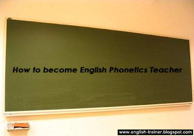 basic english phonetics teachers