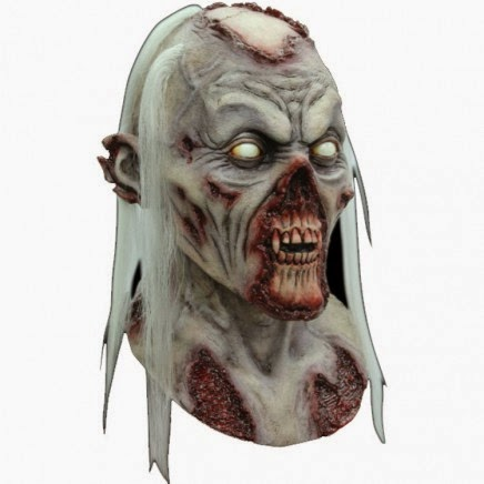 Mñascara de Zombie Putrefacto