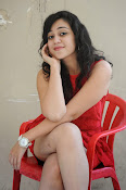 Saba Saudagar Glam photo shoot in red-thumbnail-9