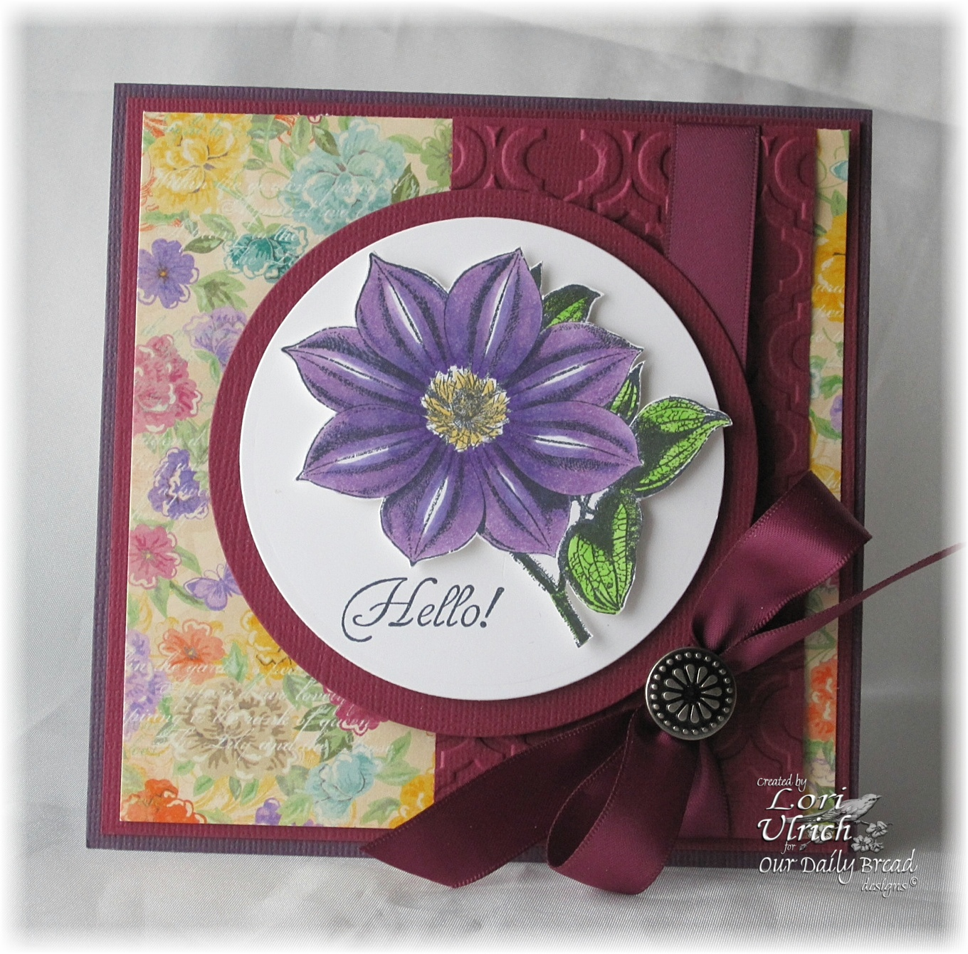 Stamps - North Coast Creations Floral Sentiments