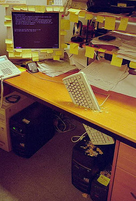 office prank 04 Funny Pictures: 30 Great Office Pranks.