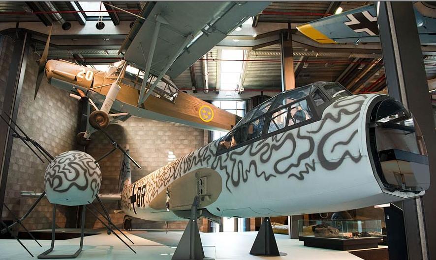 Junkers Berlin falkeeins the luftwaffe junkers ju 88 g 1 nachtjäger on display in berlin 39 s deutsches