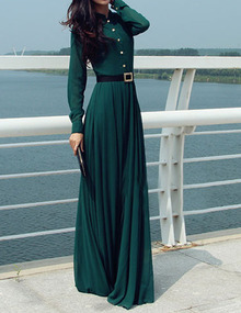 www.shein.com/Green-Long-Sleeve-Buttons-Maxi-Dress-p-243939-cat-1727.html?aff_id=2525