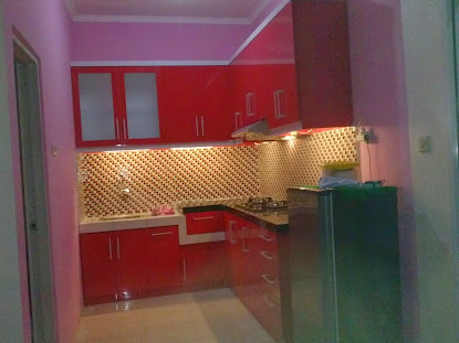 Kitchen set mas Youhanes Cileduk