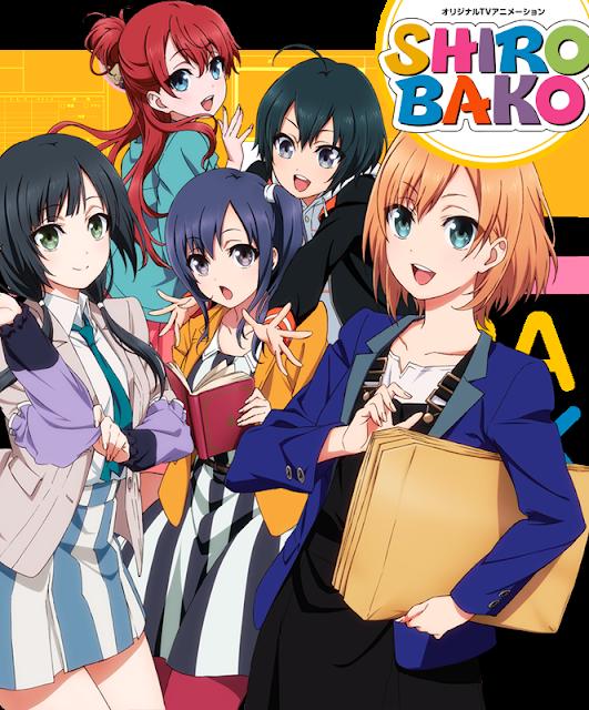 Shirobako Cover