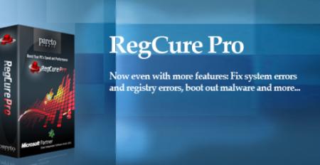 Regcure v2.1.1.0 crack registration entries