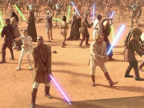 Nós conseguiríamos uma espada sabre de luz de verdade?