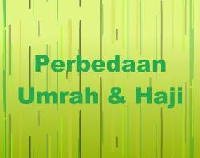 perbedaan umrah haji