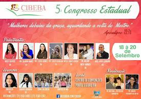 5° Congresso Estadual da CIBEBA em Porto Seguro-BA.