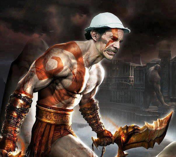 god of war, seu madruga, montagem