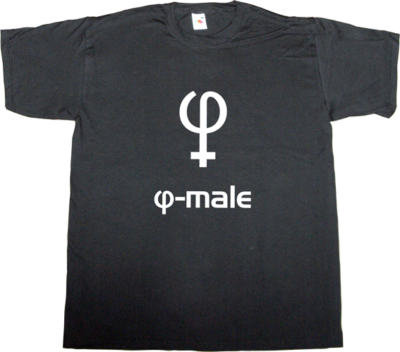 male female fun math golden ratio phi t-shirt ephemeral-t-shirts science