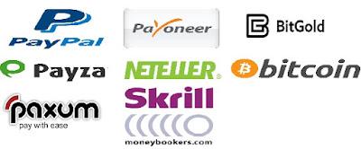 En internet hay muchos procesadores de pago y todos ofrecen interesantes opciones.
