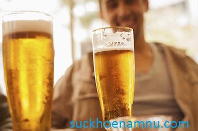 Uống bia điều độ giúp nam giới sung mãn hơn