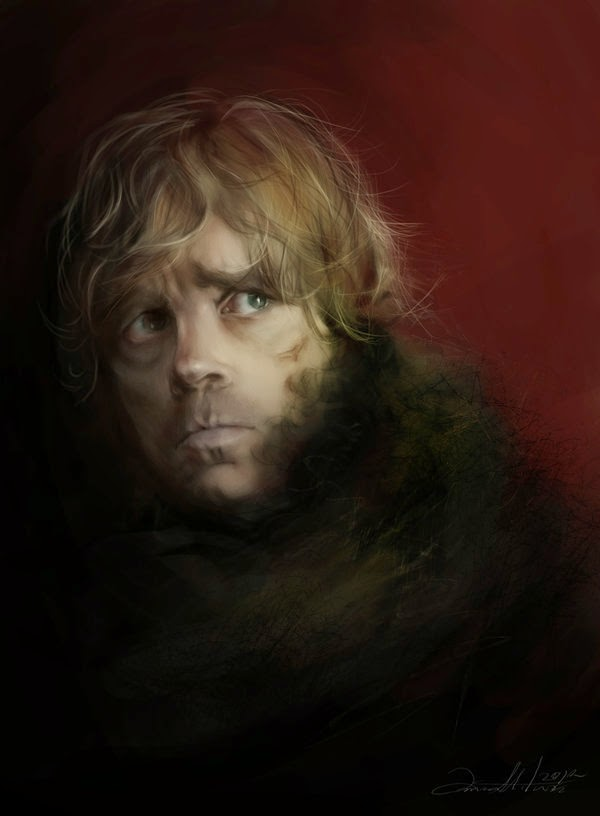 04-Tyrion-Lannister-Ania Mitura-GoT-Game-of-Thrones-Digital-Paintings-www-designstack-co