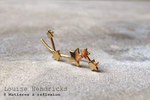 Bijou d'oreille étoiles Louise Hendricks earcuffs étoiles