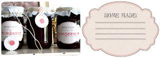 Kostenlose Etiketten für Marmelade zum Ausdrucken