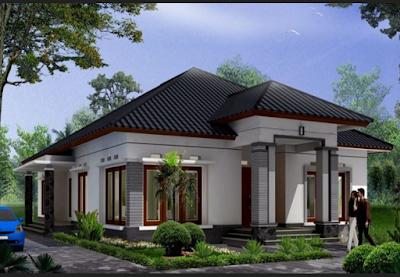 Rumah Mewah Minimalis Modern Satu Lantai