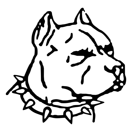pit bulls coloring pages - photo#23