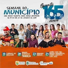 Iguatu se prepara para comemorar com festas 165 anos de história