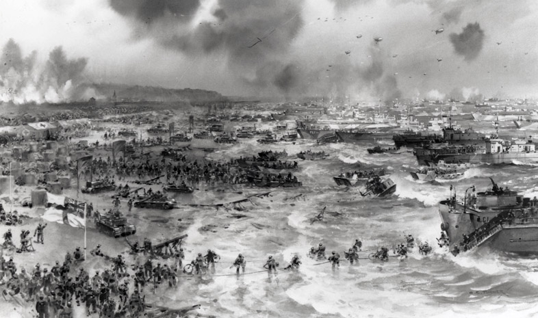 The importance of d-day and the battle of normandy