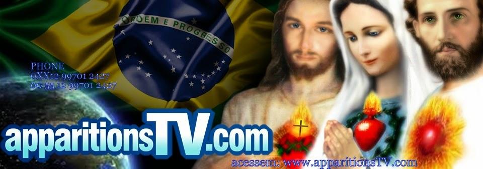 ACOMPANHE OS CENÁCULOS COM APARIÇÃO AO VIVO DIARIAMENTE NO SANTUÁRIO DAS APARIÇÕES DE JACAREÍ!!!!